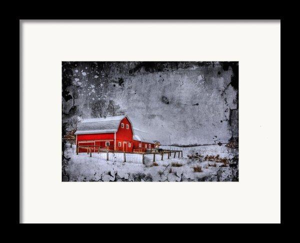 Rural Textures Framed Print By Evelina Kremsdorf