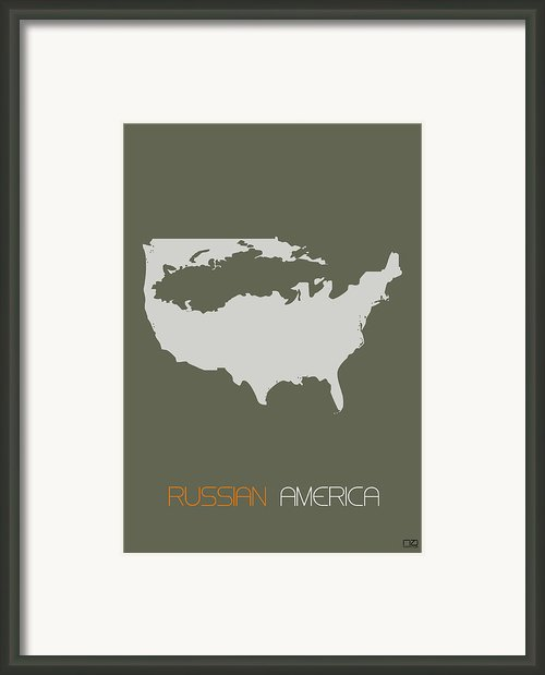 Russian America Poster Framed Print By Irina  March