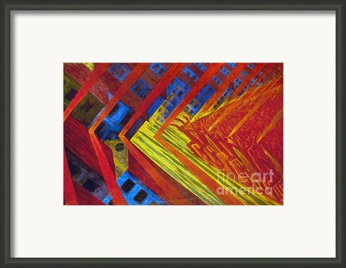 Russolo: Revolution, 1911 Framed Print By Granger