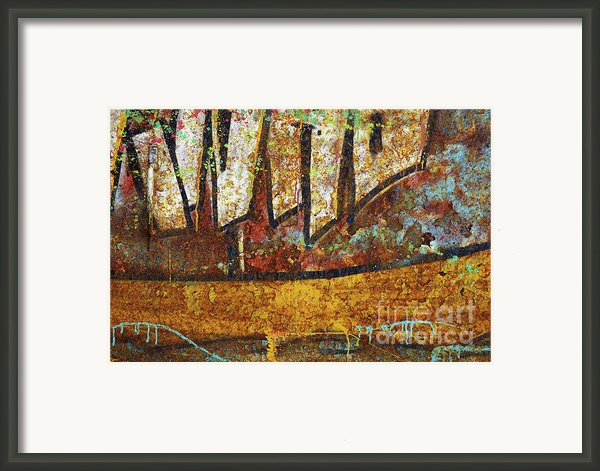 Rust Colors Framed Print By Carlos Caetano