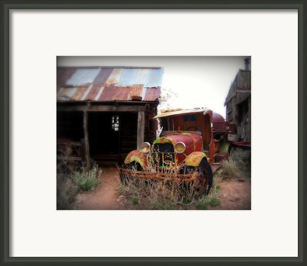 Rusted Classic Framed Print By Perry Webster