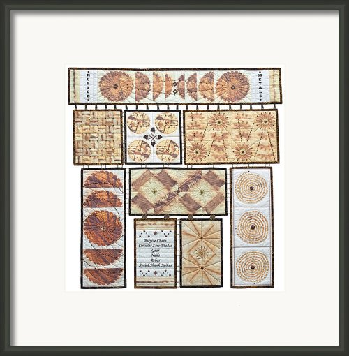 Rusted Metals Framed Print By Patty Caldwell