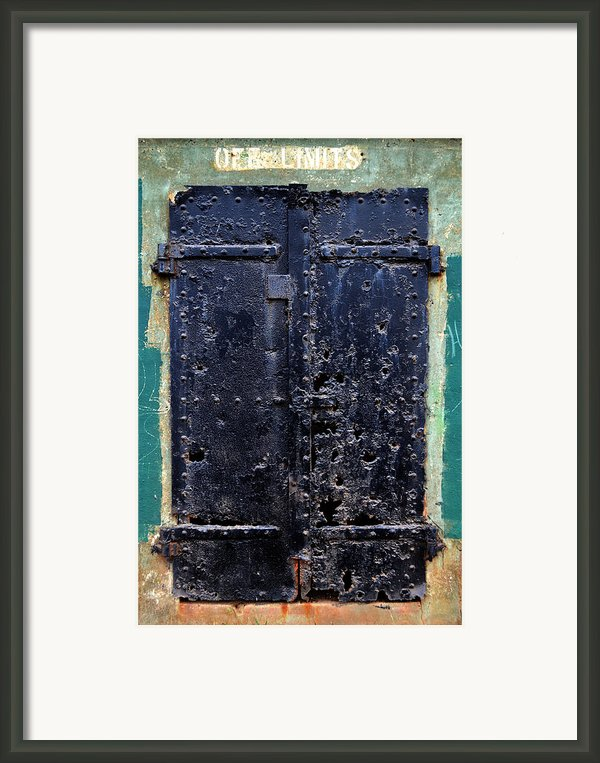 Rusted Through Framed Print By Matt Hanson