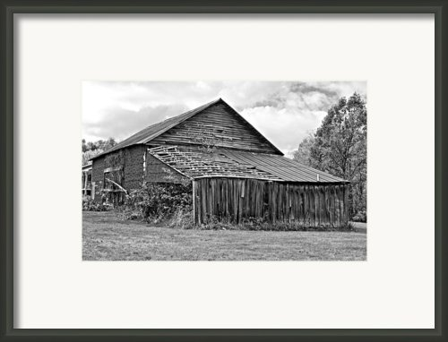 Rustic Charm Monochrome Framed Print By Steve Harrington