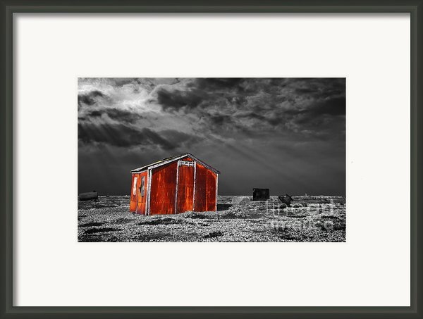 Rusting Away Framed Print By Meirion Matthias