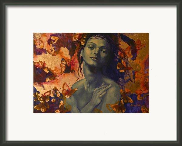 Rustle Framed Print By Dorina  Costras