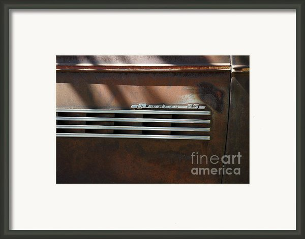 Rusty Old 1939 Chevrolet Master 85 . 5d16198 Framed Print By Wingsdomain Art And Photography