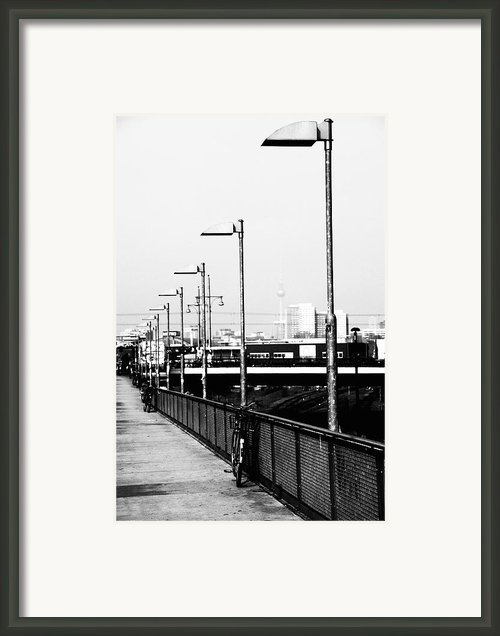 S-bahn To Berlin Framed Print By Falko Follert