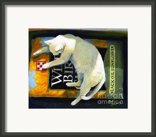 Sacked Out Framed Print By Pat Burns