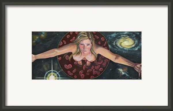 Sacred Circle Ii Framed Print By Sheri Howe