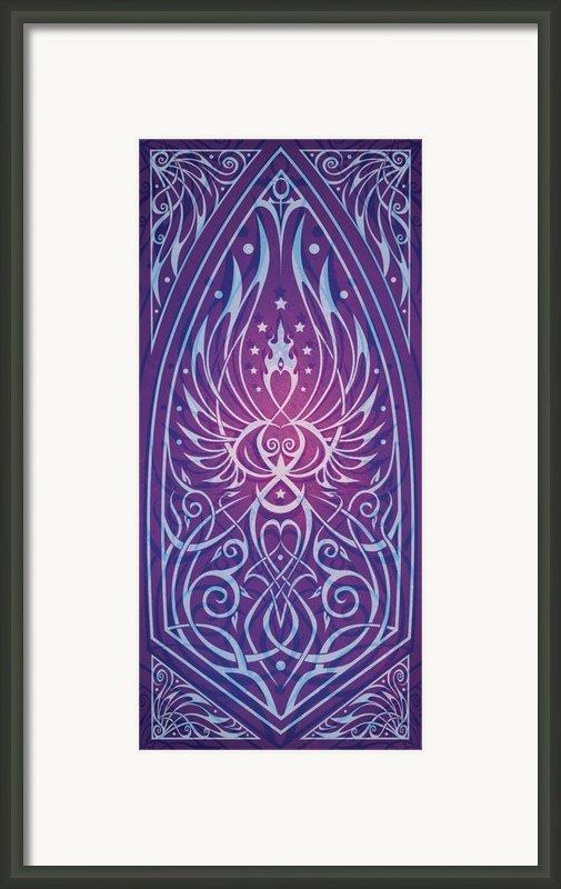 Sacred Feminine Framed Print By Cristina Mcallister
