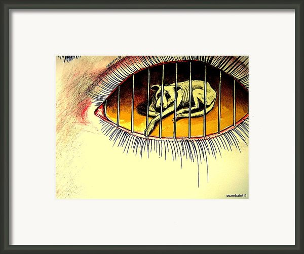Sad Points Of View Framed Print By Paulo Zerbato