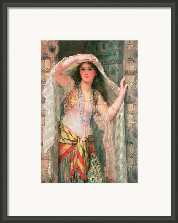 Safie Framed Print By William Clark Wontner