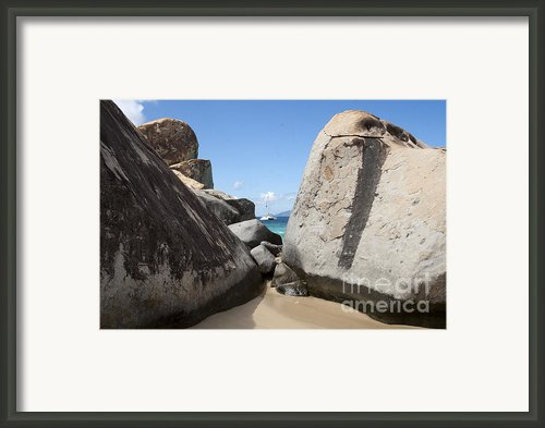 Sail Away  Framed Print By Leslie Leda