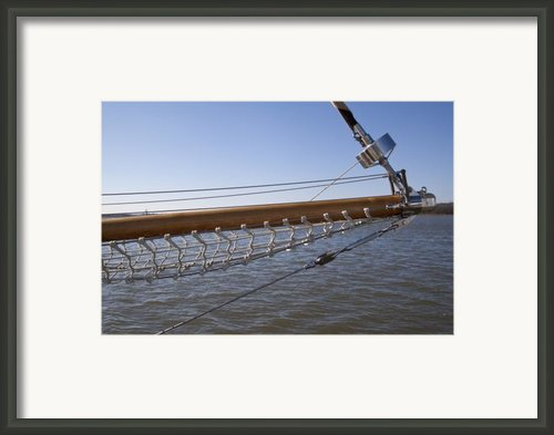 Sailboat Bowsprit Framed Print By Dustin K Ryan