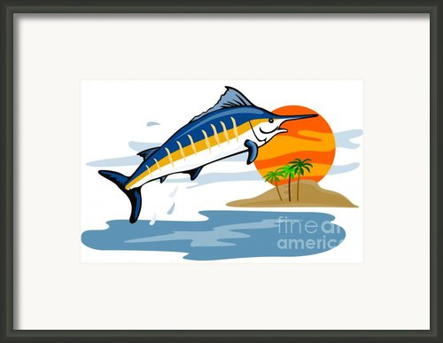 Sailfish Island Framed Print By Aloysius Patrimonio