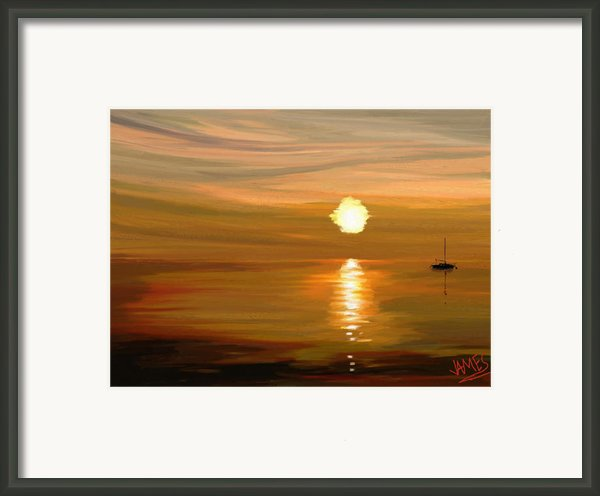 Sailing Framed Print By James Shepherd