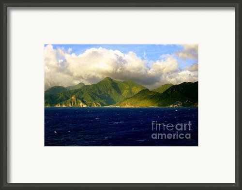 Sailing Take Me Away Framed Print By Karen Wiles