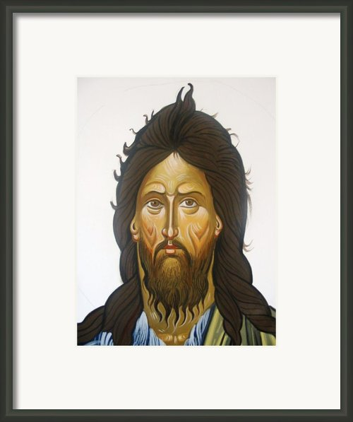Saint John Framed Print By George Siaba