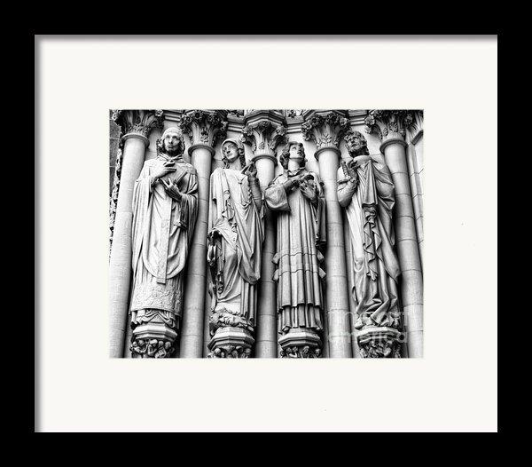 Saint John The Divine Framed Print By Anne Raczkowski
