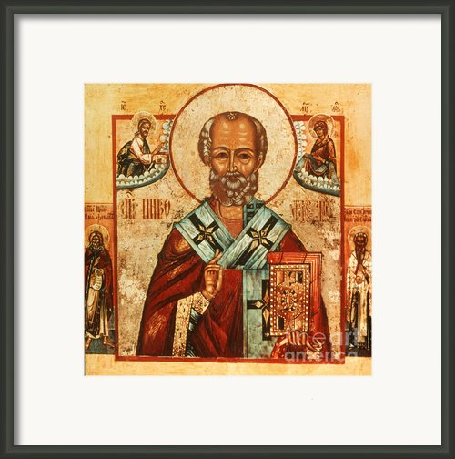 Saint Nicholas Framed Print By Granger