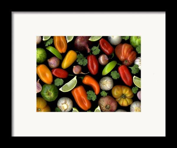 Salsa Framed Print By Christian Slanec