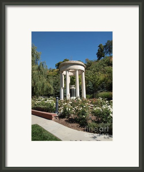 Salt Lake Great War Memorial One Framed Print By Joshua House