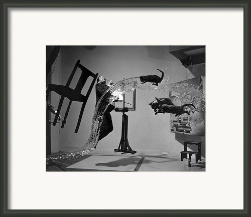 Salvador Dali 1904-1989 Framed Print By Granger