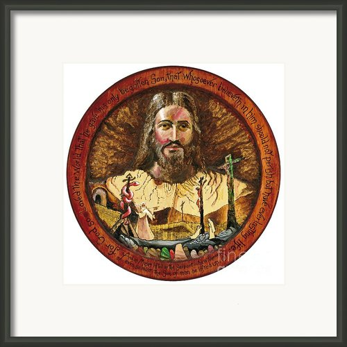 Salvation Framed Print By Peter Olsen