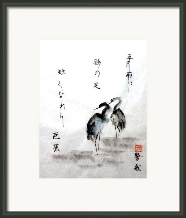 Samidare Framed Print By Tenku