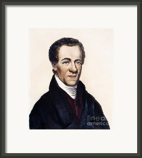 Samuel E. Cornish Framed Print By Granger