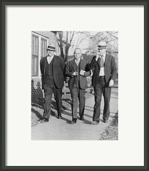Samuel S. Leibowitz 1893-1978, Attorney Framed Print By Everett
