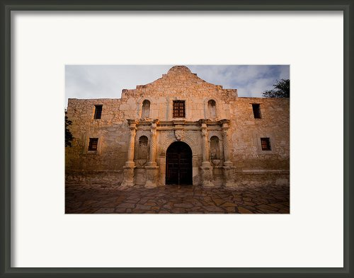 San Antonio Alamo At Sunrise Framed Print By Samuel Kessler