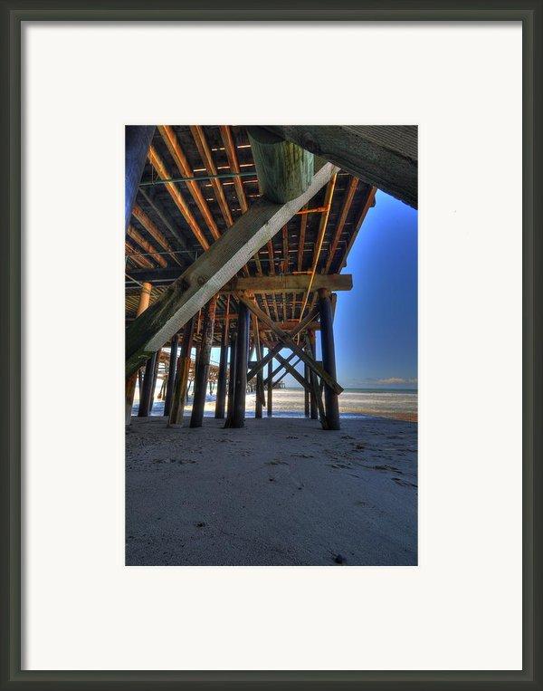 San Clemente Pier Framed Print By Kelly Wade