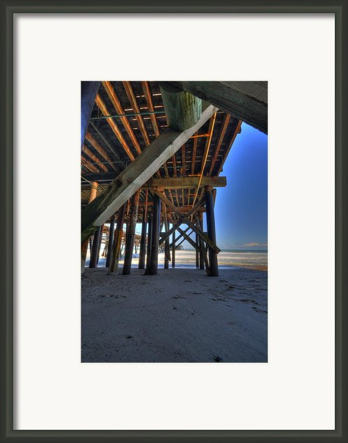 San Clemente Pier Framed Print By Kelly Wade