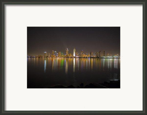 San Diego Framed Print By Benjamin Street