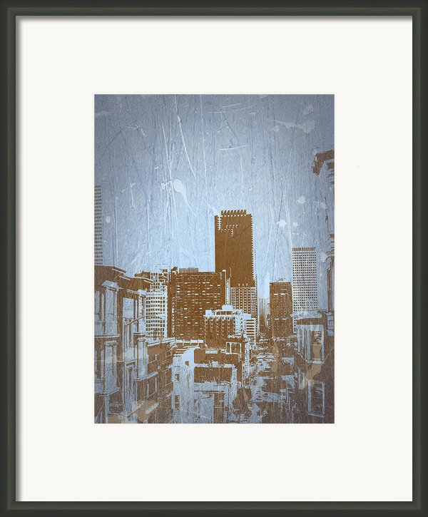 San Francisco 2 Framed Print By Naxart Studio