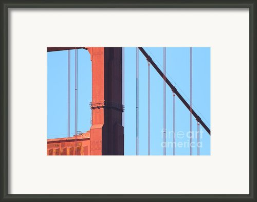 San Francisco Golden Gate Bridge . 7d7954 Framed Print By Wingsdomain Art And Photography