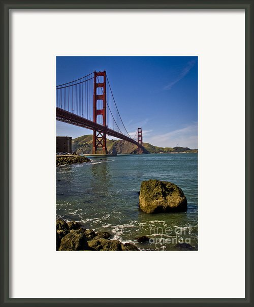 San Francisco Framed Print By Niels Nielsen