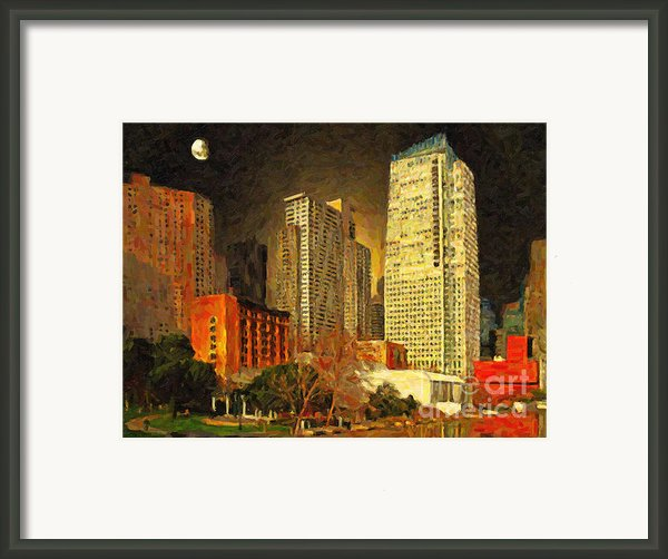 San Francisco Yerba Buena Garden Framed Print By Wingsdomain Art And Photography