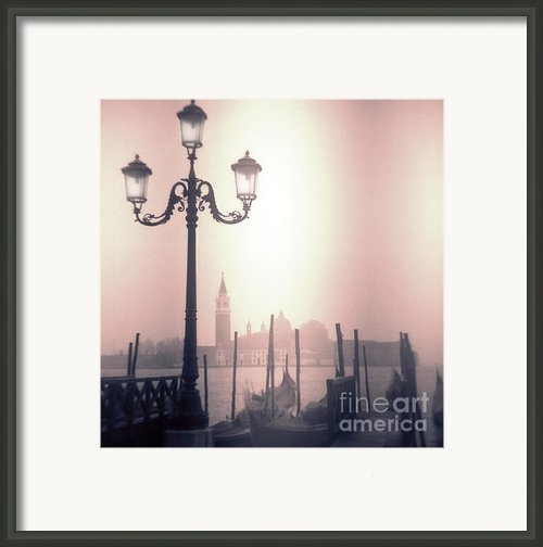 San Giorgio Maggiore Seen From Venice  Framed Print By Janeen Wassink Searles