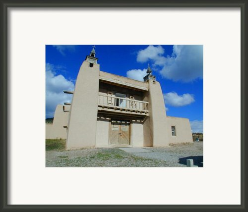 San Jose De Gracia Number 1 Framed Print By Joseph R Luciano