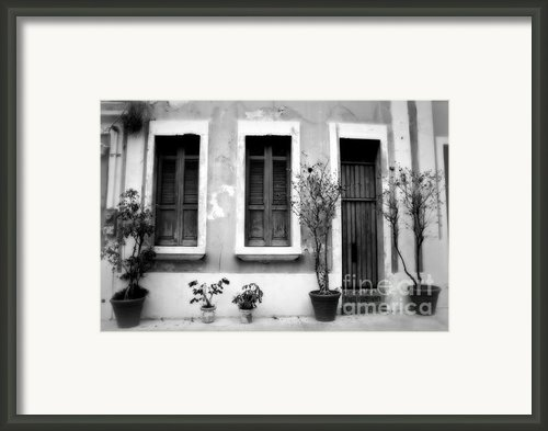 San Juan Living 2 Framed Print By Perry Webster