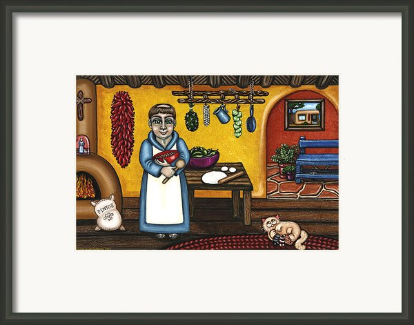 San Pascual And Kittens Framed Print By Victoria De Almeida