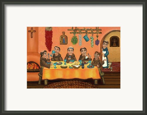 San Pascuals Table 2 Framed Print By Victoria De Almeida