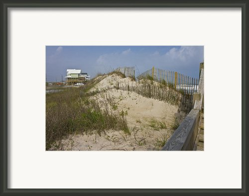 Sand Dunes Ii Framed Print By Betsy A Cutler East Coast Barrier Islands