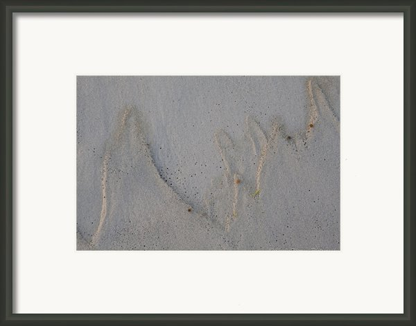 Sand Mountains Framed Print By Charles Warren