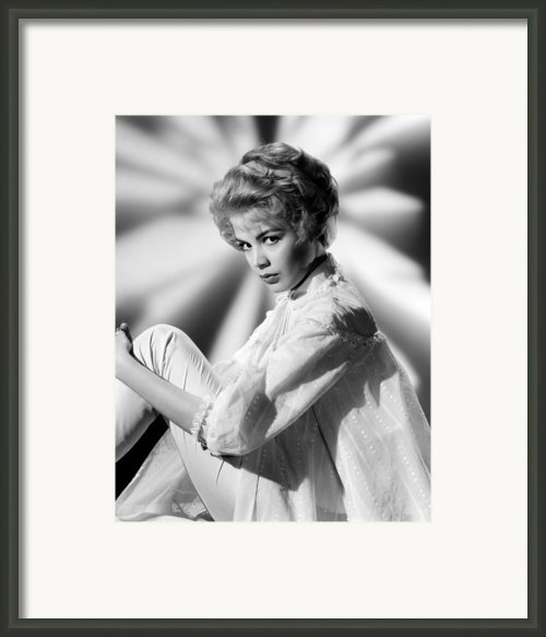 Sandra Dee, Age 17, 1959 Framed Print By Everett
