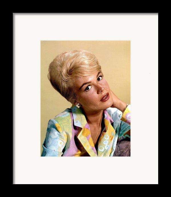 Sandra Dee, Ca. Early 1960s Framed Print By Everett