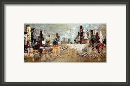 Sands Of Time Framed Print By Vital Germaine
